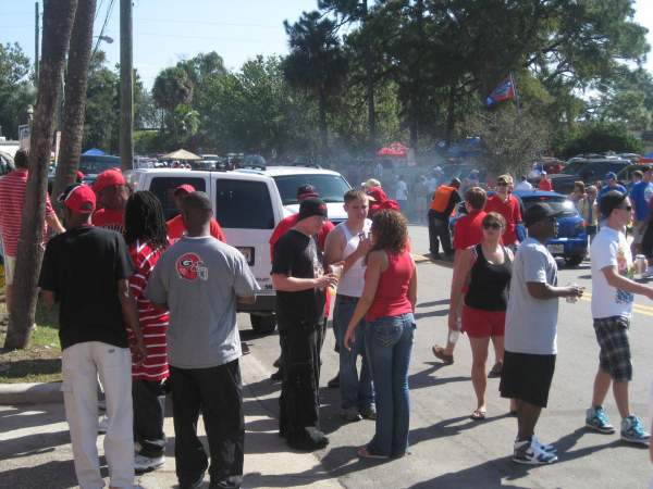 florida georgia parking and partying31